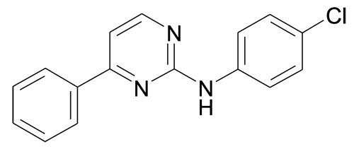 MFCD10568239   2-(4-Chlorophenyl)amino-4-phenylpyrimidine   acints