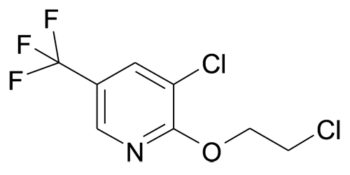 3-Chloro-2-(2-chloroethoxy)-5-(trifluoromethyl)pyridine
