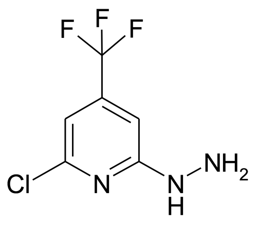 (6-Chloro-4-(trifluoromethyl)pyridin-2-yl)hydrazine