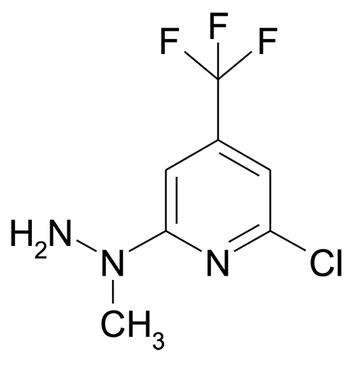 N-(6-Chloro-4-(trifluoromethyl)pyridin-2-yl)-N-methylhydrazine