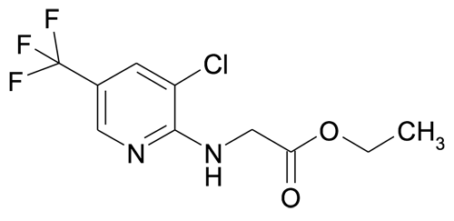 Ethyl (3-chloro-5-(trifluoromethyl)pyridin-2-ylamino)acetate