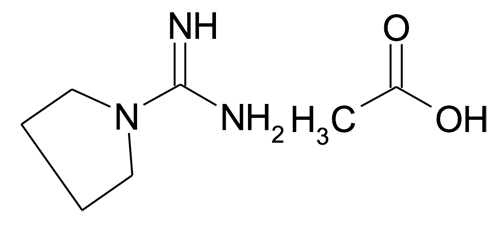 MFCD09702434 | Pyrrolidine-1-carboxamidinium acetate | acints
