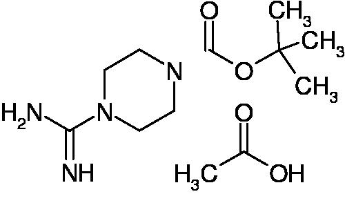 1208081-93-9 | MFCD11052389 | 1-tert-Butyloxycarbonyl-4-carbamimidoylpiperazine acetate | acints