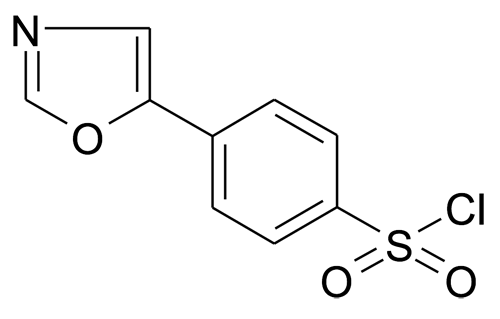 337508-66-4 | MFCD02681962 | 4-Oxazol-5-yl-benzenesulfonyl chloride | acints