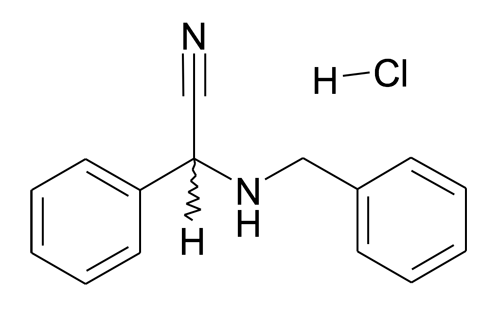 | MFCD11052408 | Benzylaminophenylacetonitrile hydrochloride | acints
