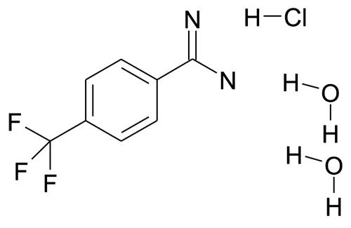 4-(Trifluoromethyl)benzamidine hydrochloride dihydrate