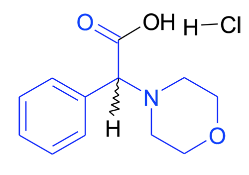 MFCD08543734 | 2-(Morpholin-4'-yl)phenylacetic acid hydrochloride | acints