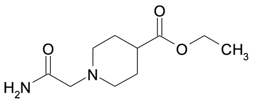 MFCD09837321   1-Carbamoylmethyl-piperidine-4-carboxylic acid ethyl ester   acints