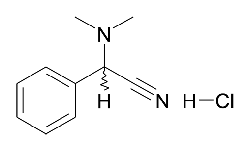 MFCD11227159 | Dimethylamino-phenyl-acetonitrile; hydrochloride | acints