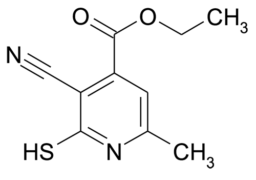 3-Cyano-2-mercapto-6-methyl-isonicotinic acid ethyl ester