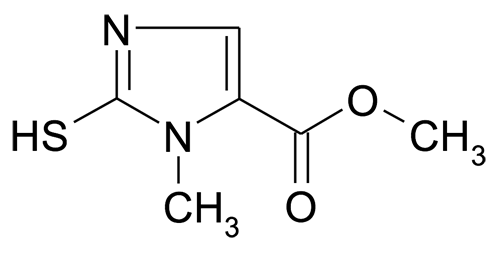 2-Mercapto-3-methyl-3H-imidazole-4-carboxylic acid methyl ester