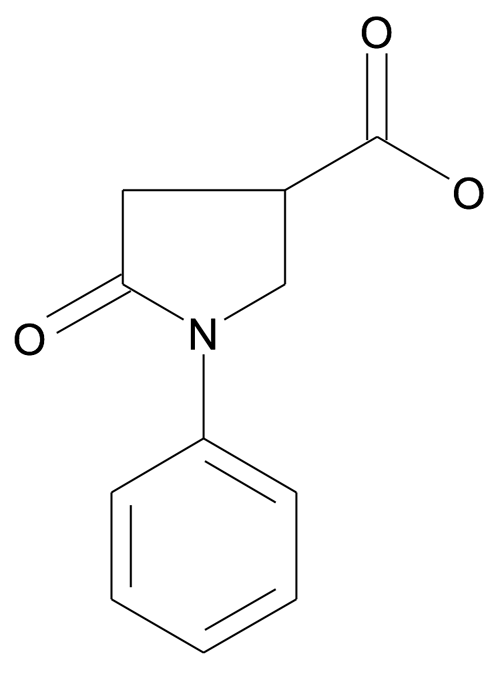 N-Phenylpyrrolidin-2-one-4-carboxylic acid