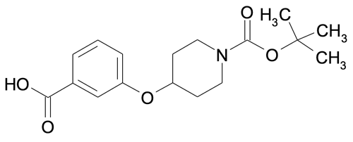4-(3-Carboxy-phenoxy)-piperidine-1-carboxylic acid tert-butyl ester