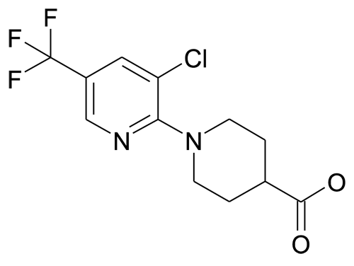 N-[3'-Chloro-5'-(trifluoromethyl)pyridin-2'-yl]piperidine-4-carboxylic acid