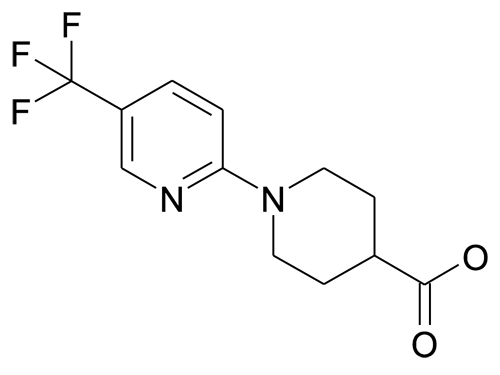 N-[5'-(trifluoromethyl)pyridin-2'-yl]piperidine-4-carboxylic acid