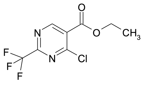 720-01-4 | MFCD00173897 | 4-Chloro-2-trifluoromethyl-pyrimidine-5-carboxylic acid ethyl ester | acints