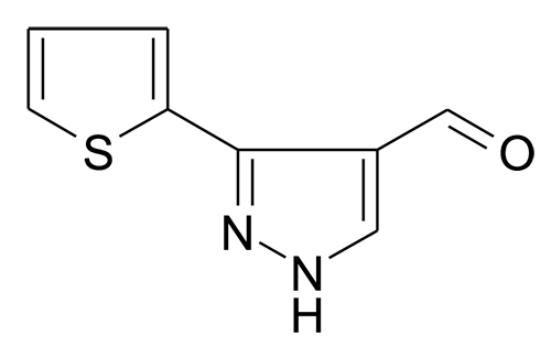 26033-27-2 | MFCD02677688 | 3-Thiophen-2-yl-1H-pyrazole-4-carbaldehyde | acints