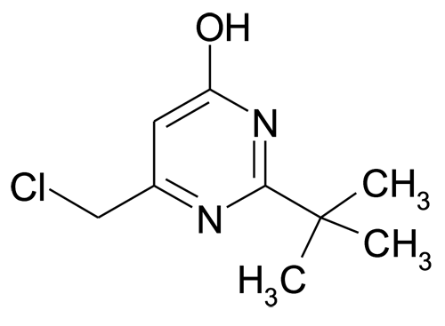 2-tert-Butyl-6-chloromethyl-pyrimidin-4-ol