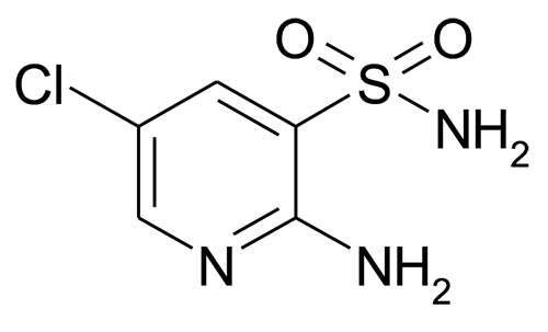 2-Amino-5-chloro-pyridine-3-sulfonic acid amide