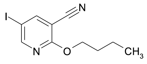 2-Butoxy-5-iodo-nicotinonitrile