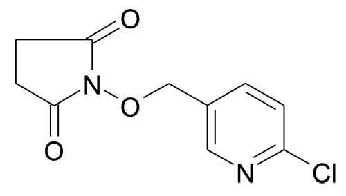 MFCD11227177 | 1-(6-Chloro-pyridin-3-ylmethoxy)-pyrrolidine-2,5-dione | acints