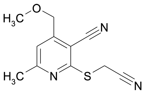 2-Cyanomethylsulfanyl-4-methoxymethyl-6-methyl-nicotinonitrile