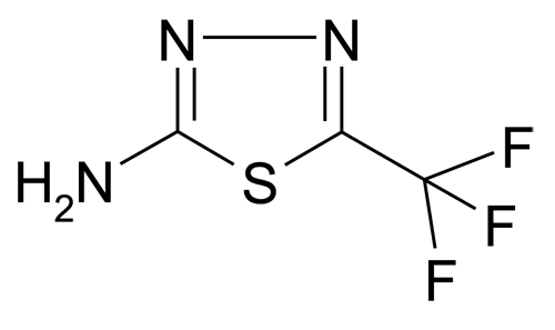 10444-89-0   MFCD00003109   5-Trifluoromethyl-[1,3,4]thiadiazol-2-ylamine   acints
