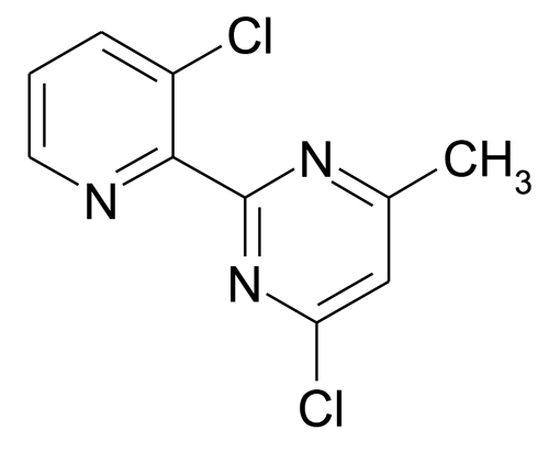 4-Chloro-2-(3-chloro-pyridin-2-yl)-6-methyl-pyrimidine