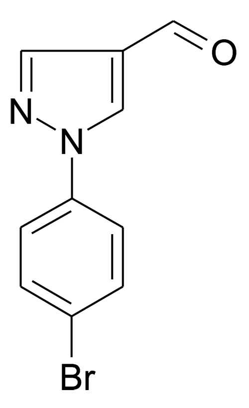 1-(4-Bromo-phenyl)-1H-pyrazole-4-carbaldehyde