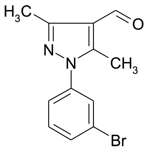 1-(3-Bromo-phenyl)-3,5-dimethyl-1H-pyrazole-4-carbaldehyde