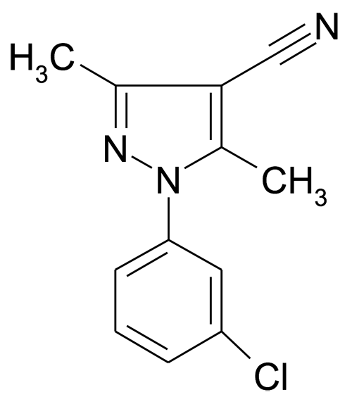 1-(3-Chloro-phenyl)-3,5-dimethyl-1H-pyrazole-4-carbonitrile
