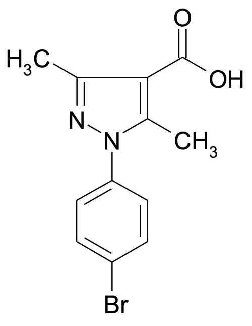 1-(4-Bromo-phenyl)-3,5-dimethyl-1H-pyrazole-4-carboxylic acid