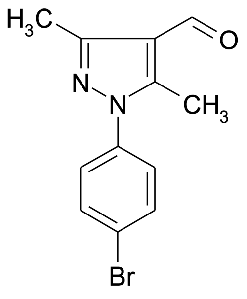 1-(4-Bromo-phenyl)-3,5-dimethyl-1H-pyrazole-4-carbaldehyde