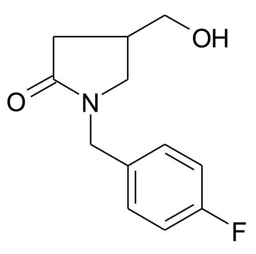 1-(4-Fluoro-benzyl)-4-hydroxymethyl-pyrrolidin-2-one