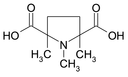 1,2,5-Trimethyl-pyrrolidine-2,5-dicarboxylic acid