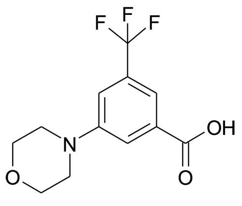 3-Morpholin-4-yl-5-trifluoromethyl-benzoic acid