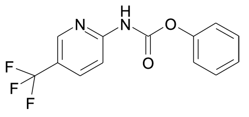(5-Trifluoromethyl-pyridin-2-yl)-carbamic acid phenyl ester