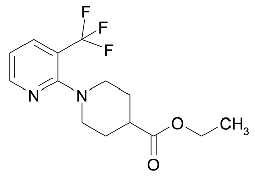 3'-Trifluoromethyl-3,4,5,6-tetrahydro-2H-[1,2']bipyridinyl-4-carboxylic acid ethyl ester