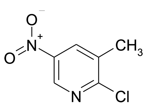 2-Chloro-3-methyl-5-nitro-pyridine