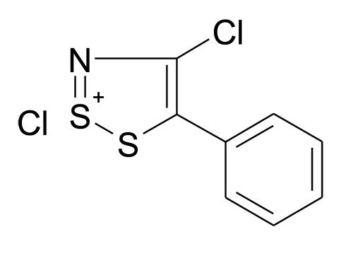 | MFCD12131115 | 4-Chloro-5-phenyl-[1,2,3]dithiazol-2-ylium; chloride | acints