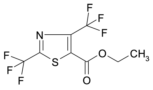 2,4-Bis-trifluoromethyl-thiazole-5-carboxylic acid ethyl ester