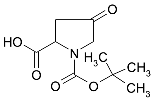 4-Oxo-pyrrolidine-1,2-dicarboxylic acid 1-tert-butyl ester