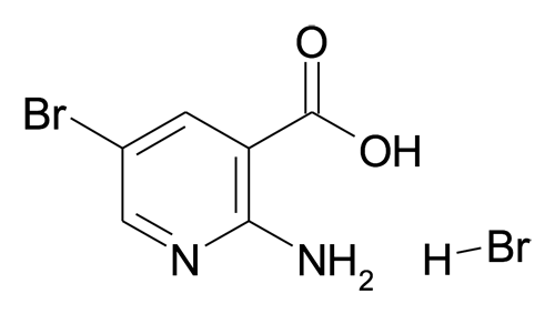 2-Amino-5-bromo-nicotinic acid; hydrobromide