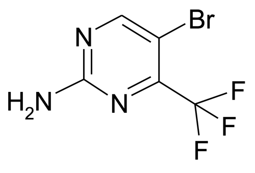 935534-47-7 | MFCD09261254 | 5-Bromo-4-trifluoromethyl-pyrimidin-2-ylamine | acints