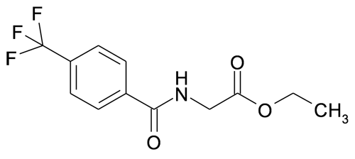 | MFCD00112005 | (4-Trifluoromethyl-benzoylamino)-acetic acid ethyl ester | acints