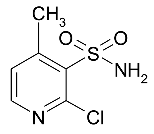2-Chloro-4-methyl-pyridine-3-sulfonic acid amide