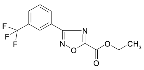 3-(3-Trifluoromethyl-phenyl)-[1,2,4]oxadiazole-5-carboxylic acid ethyl ester