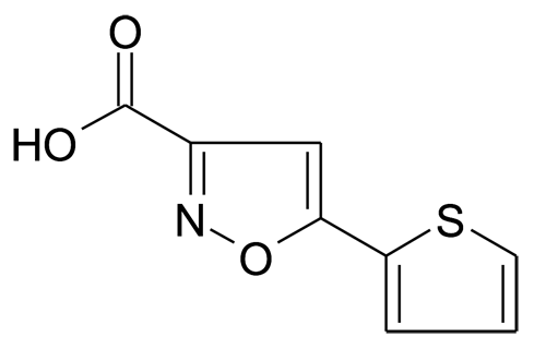 5-Thiophen-2-yl-isoxazole-3-carboxylic acid