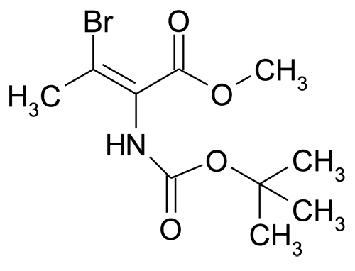 | MFCD15142811 | (E)-3-Bromo-2-tert-butoxycarbonylamino-but-2-enoic acid methyl ester | acints