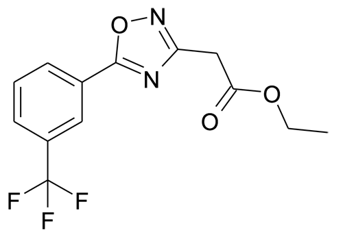 [5-(3-Trifluoromethyl-phenyl)-[1,2,4]oxadiazol-3-yl]-acetic acid ethyl ester